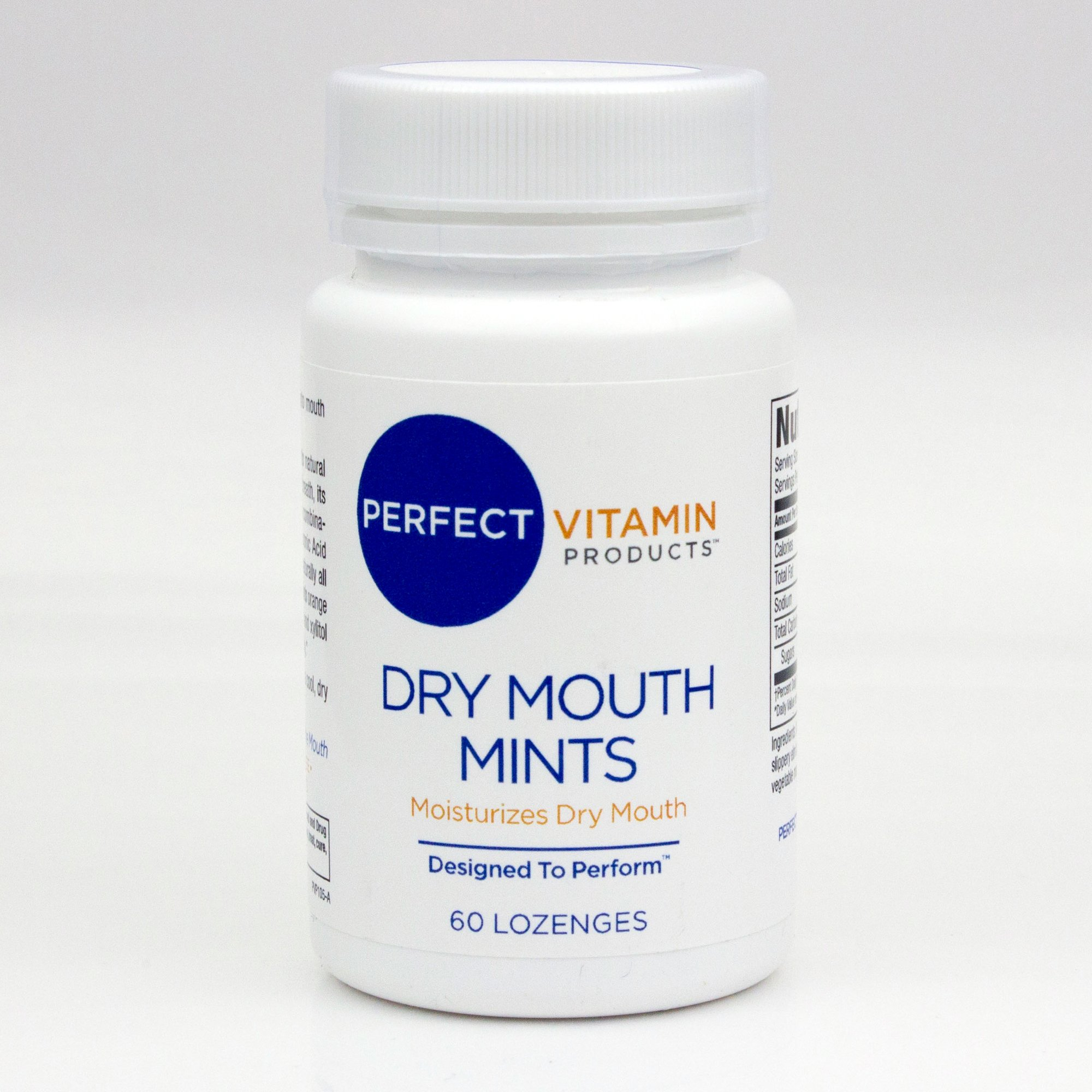 Dry Mouth Mints - stimulates saliva production for a dry mouth