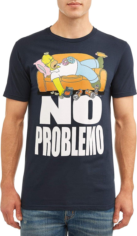 Homer Simpsons Mens T-Shirt Ladies Man The Simpsons Sizes S-XXL