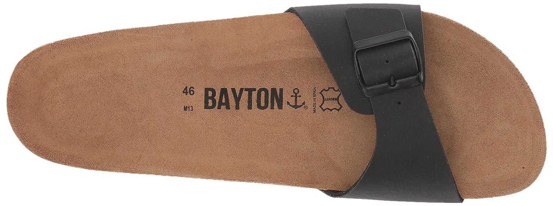 Ba-10403 Noir Tongs//Sandales Bayton