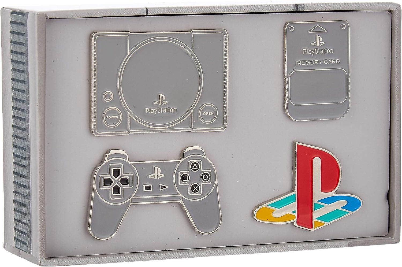 Official Playstation Pin Badge Set: Amazon.es: Ropa y accesorios