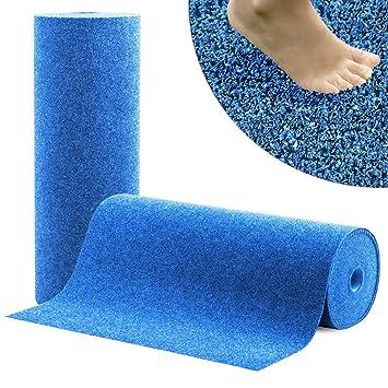 Moquette Du0027extérieur Casa Pura® Spring Bleu Au Mètre | Tapis Type Gazon  Artificiel Photo