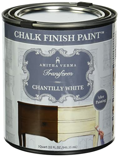Amitha Verma Chalk Finish Paint, No Prep, One Coat, Fast Drying | DIY Makeover for Cabinets, Furniture & More
