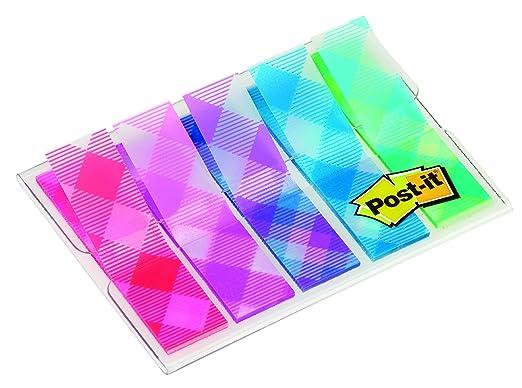 34 opinioni per Post-it 5148 Miniset Segnapagina Motivi Colorati, 5 x 20 Pezzi, Multicolore