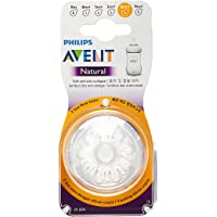 Philips Avent SCF654/23 Natural Nipple, Fast flow, 6m+, 2 Piece