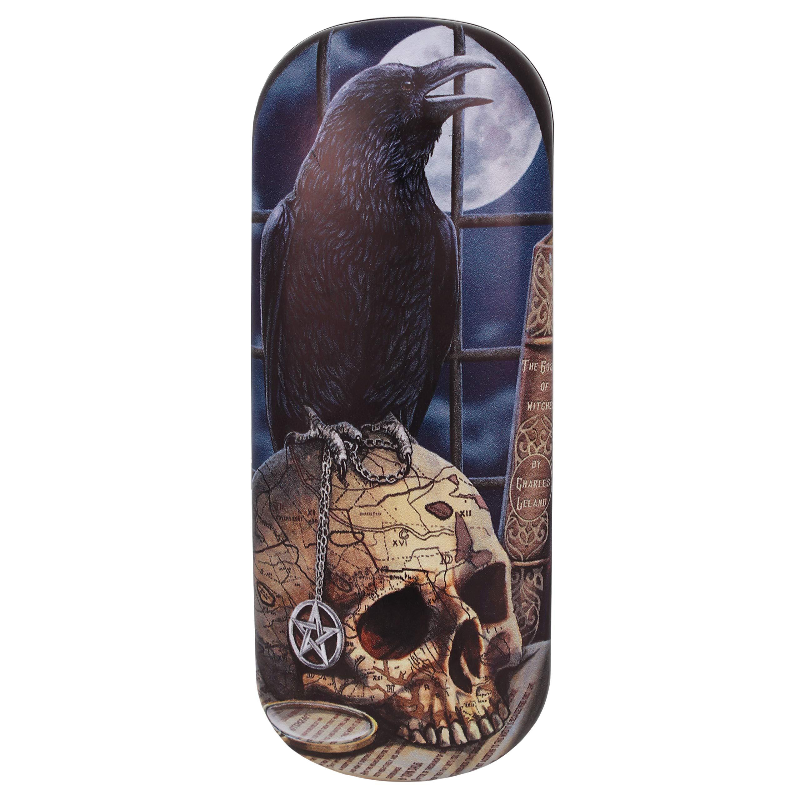 Lisa Parker Salem Raven Skull Eyeglass Case/Trinket Box