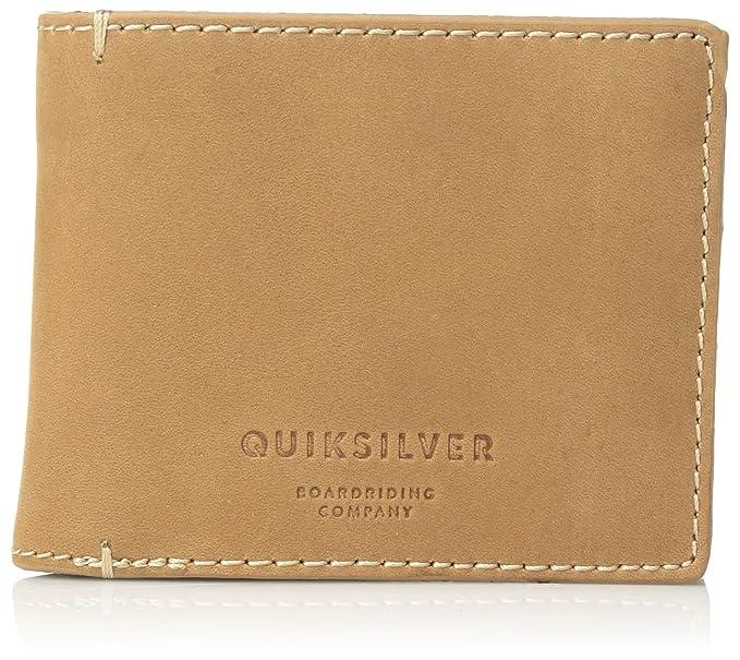Quiksilver - Cartera para hombre Bone Brown Medium: Amazon ...