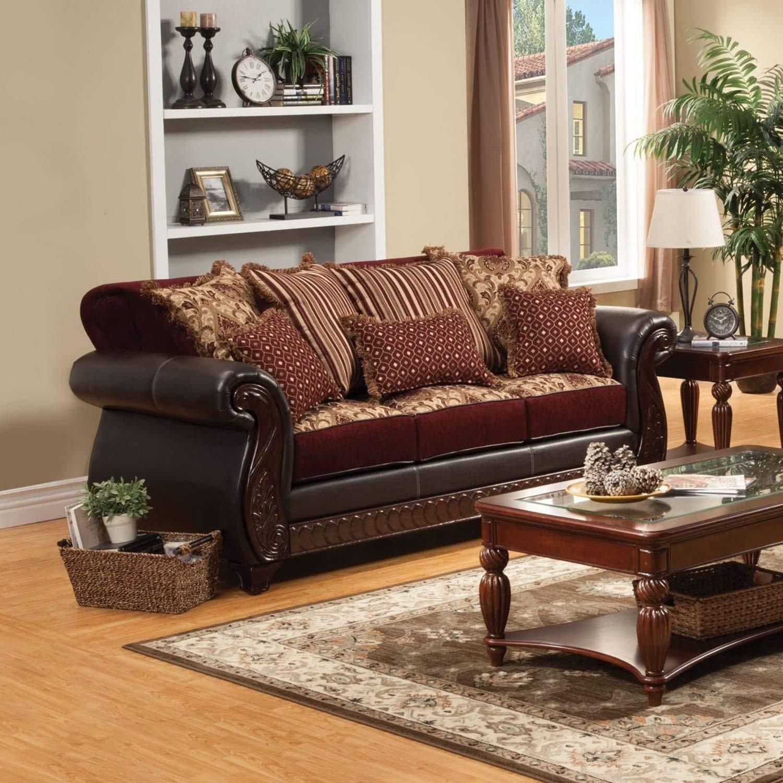 Amazon.com: Furniture of America Franchesca Traditional ...