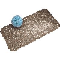 InterDesign Pebblz Non-Slip Suction Bath Mat – Mat for Shower or Tub