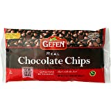 Gefen Semi Sweet Real Chocolate Chips, Dairy Free 9OZ (3 Pack)