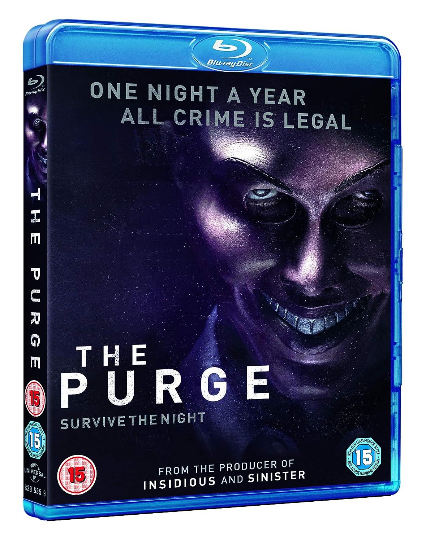 The Purge Edizione: Regno Unito ITA Reino Unido Blu-ray ...