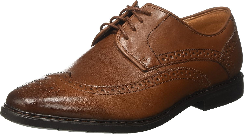 Clarks Banbury Limit, Zapatos de Cordones Brogue para Hombre
