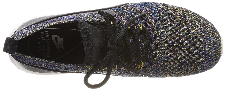 Nike Air Air Air Max Thea Ultra Flyknit Scarpe da Ginnastica Basse Donna, Nero nero-Ivory-Night viola, 37.5 EU 9041dd