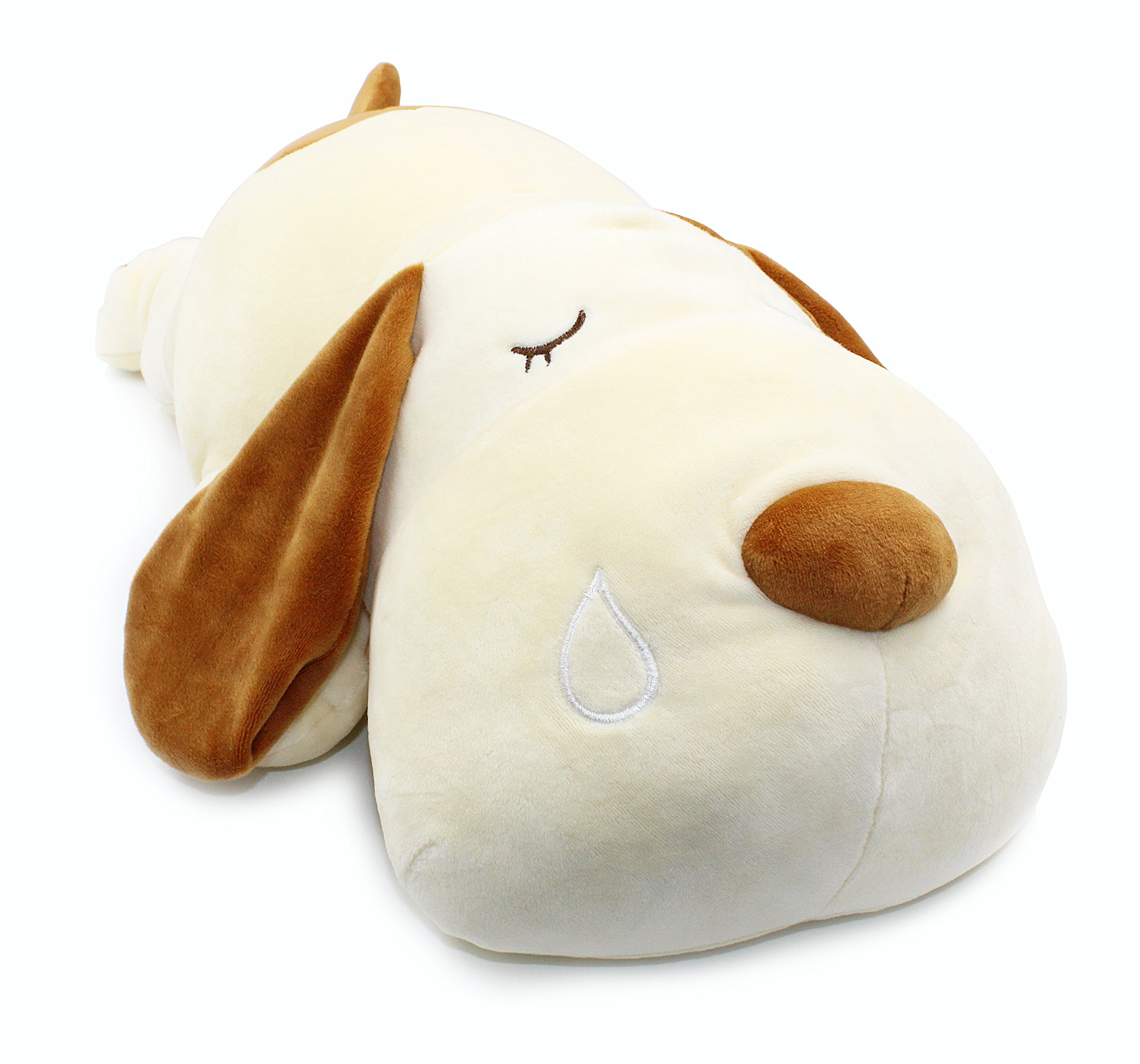 Vintoys Very Soft Dog Big Hugging Pillow Plush Puppy Stuffed Animals Brown 23.5''