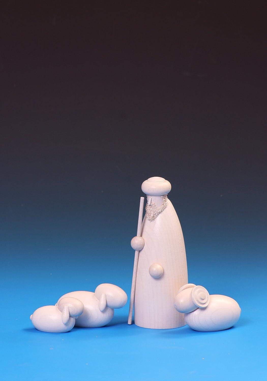 Hirtengruppe, Schäfer mit mit mit Schafen - weiß d745bd