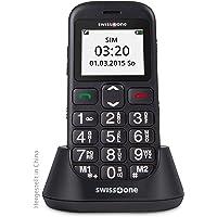 Swisstone 450015 BBM 320c GSM-mobiltelefon, 60 x 100 x 115 mm, Svart