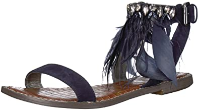 95f166224 Amazon.com  Sam Edelman Women s Genevia Flat Sandal  Shoes