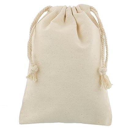 100 Bolsitas de algodón 10x15 cm
