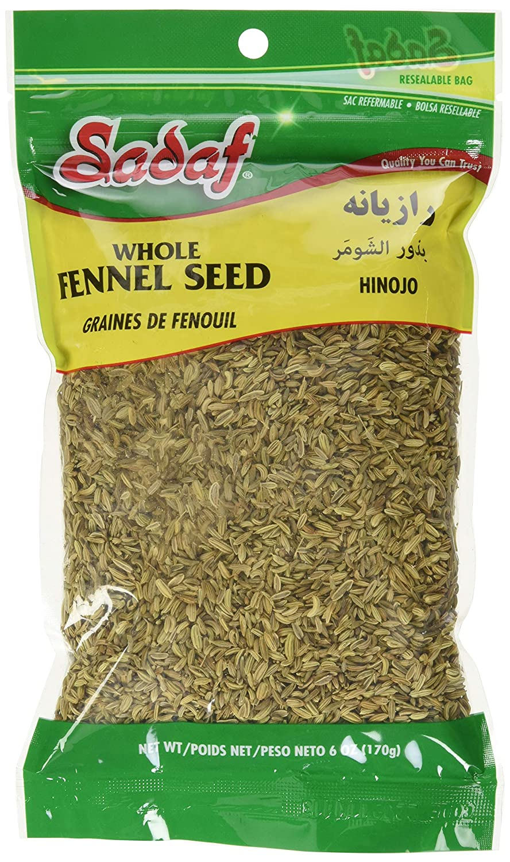 Amazon.com : Sadaf Seeds, Fennel (Semillas De Hinojo), 6 ...