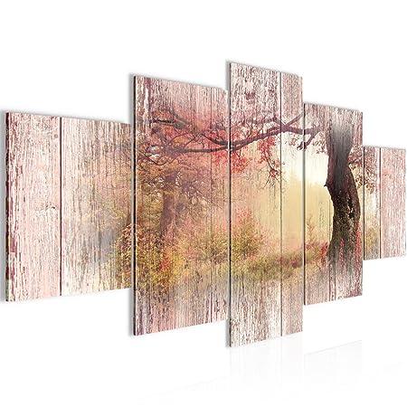 Runa Art Bilder Herbst Vintage Wandbild 200 x 100 cm Vlies ...