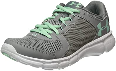 hot sale online 5e605 1844d Under Armour Women s UA Thrill 2 Running Shoe Steel / White ...