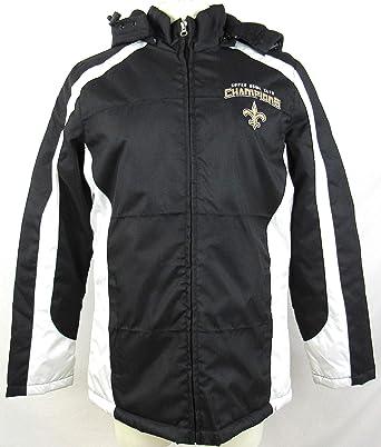 Zubaz NFL New Orleans Saints Mens Full Zip Hoodie