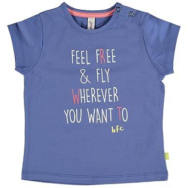 63ca4b6934d72 Babyface - T-Shirt - Fille Bleu Bleu Ciel - Bleu - 4 Ans  Amazon.fr ...