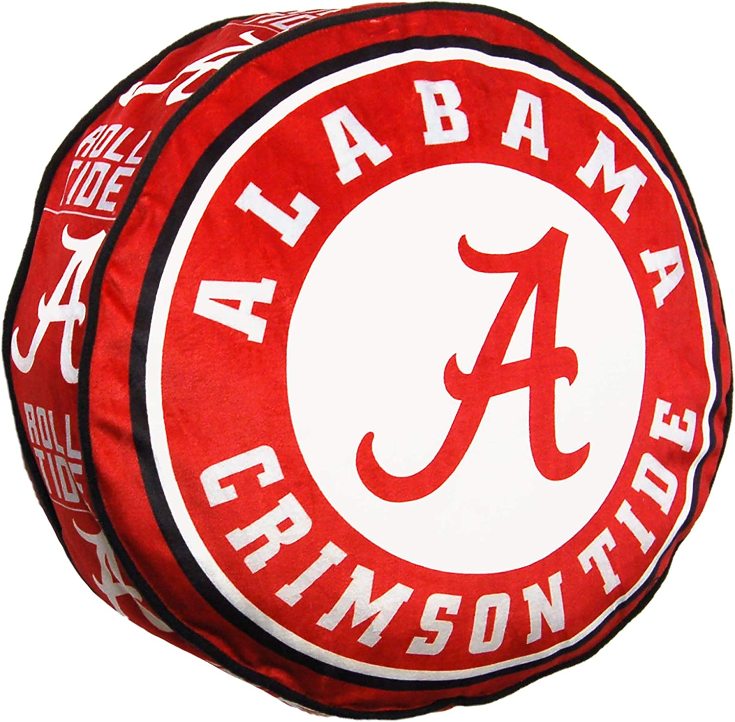 Northwest 1COL148000018RET NCAA Alabama Crimson Tide Cloud to Go StylePillow, Team Colors, One Size