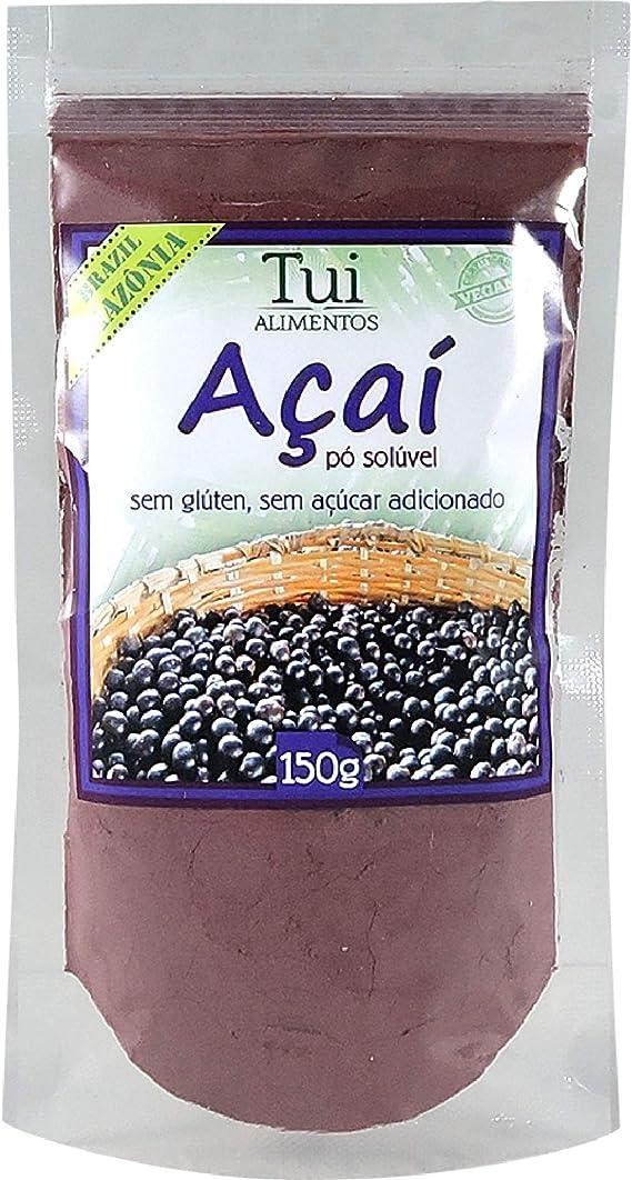 Açaí em Pó 150G: Amazon.com.br: Alimentos e Bebidas