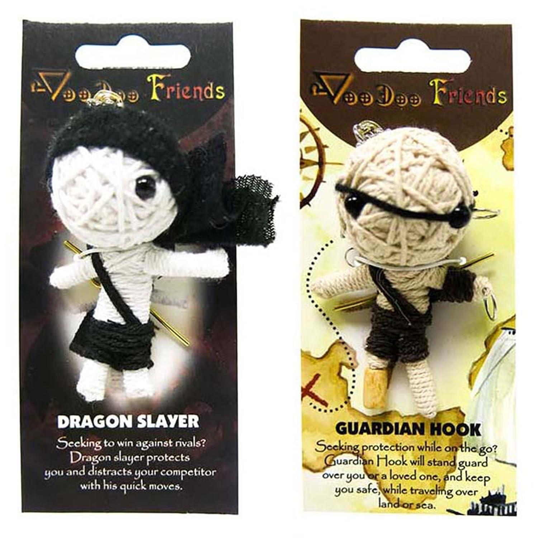 Amazon.com: FROG SAC Voodoo Dolls - Juego de 2 muñecos de ...