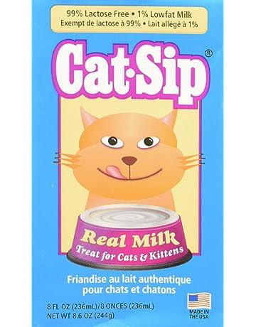 Cat-Sip Leche para gatos y gatitos, 8 oz cada paquete (6 unidades