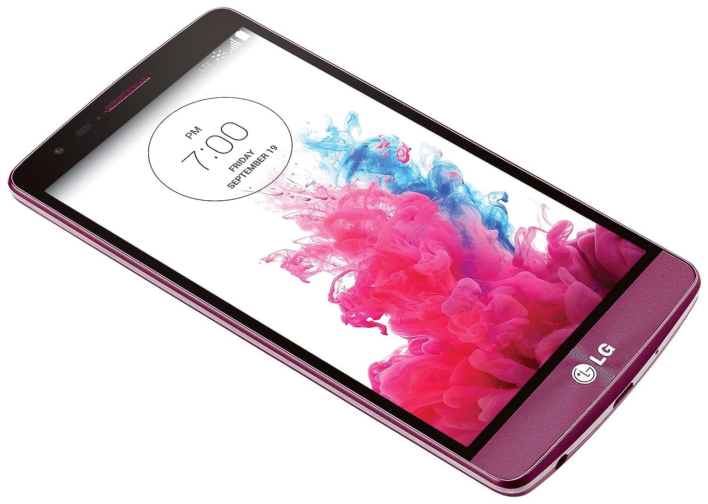 amazon com lg g3 vigor burgundy red 8gb sprint cell phones