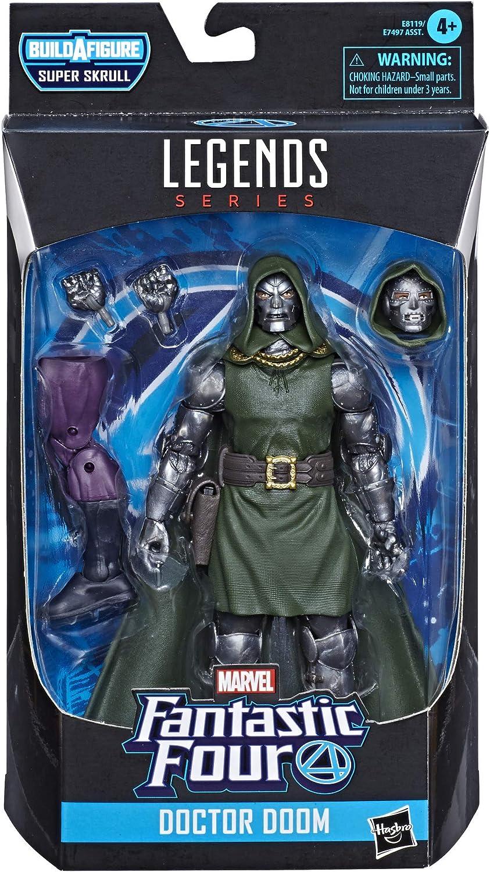 Marvel- Legends 4 Fantásticos Dr. Doom, 19 cm (Hasbro E81195X0): Amazon.es: Juguetes y juegos