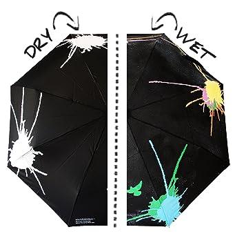 Pájaro Squit SQUIDARELLA, el paraguas que cambia de color