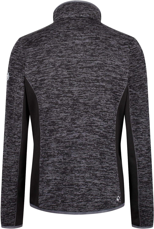 Regatta Laney VI Full-Zip Extol Strtch Marl Knit Effect Fleece Pile Uomo Donna