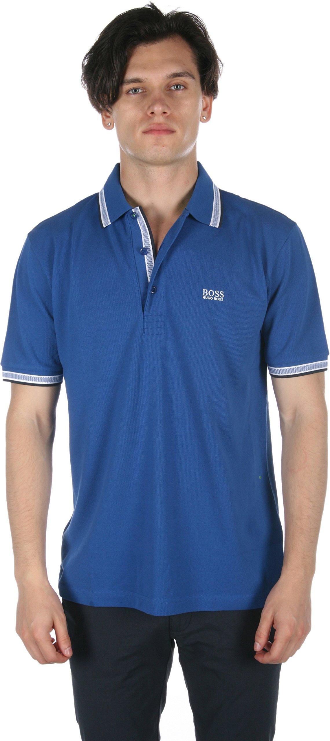 Hugo Boss Boss Green Men's Paddy Polo 10102943 True Blue Polo Shirt 3XL