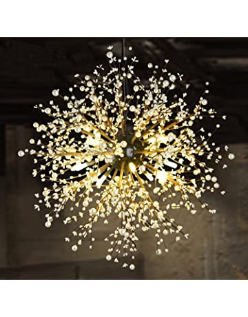 Lights & Lighting Modern Led American Garden Flower Chandelier Living Room Exquisite Carved Ceramic Lighting Restaurant Wrought Iron Pendant Lamps Chandeliers