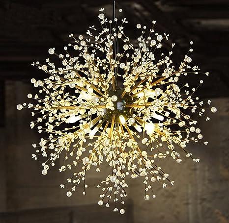 GDNS Lámpara colgante antigua techo iluminación hogar 8 ...