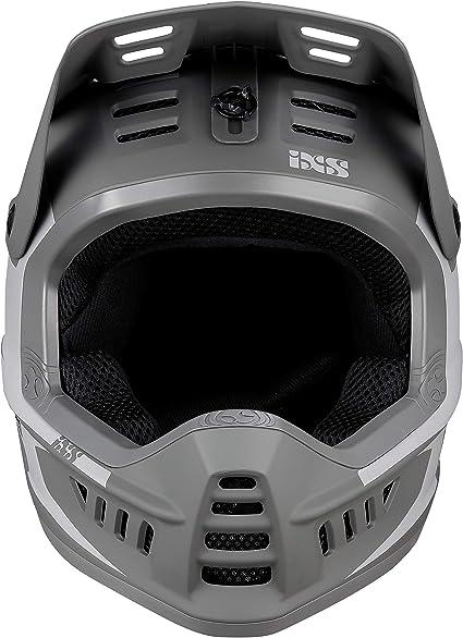 IXS XACT Evo Casque Int/égral VTT//BMX Adulte Unisexe 49-52cm Grey-Graphite XS