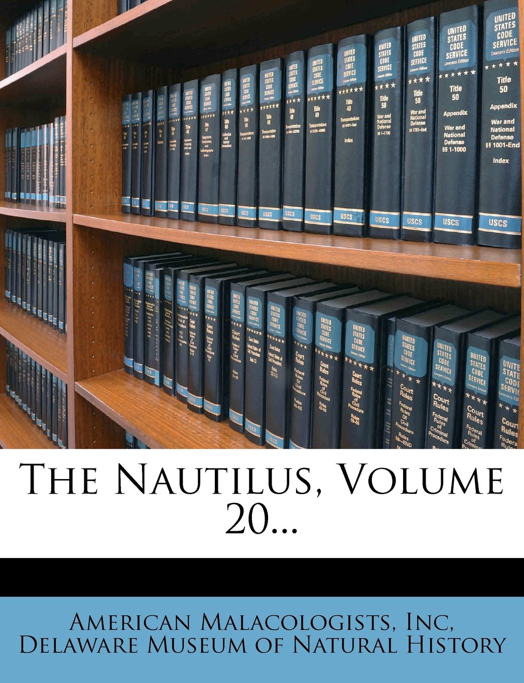 The Nautilus, Volume 20... ebook