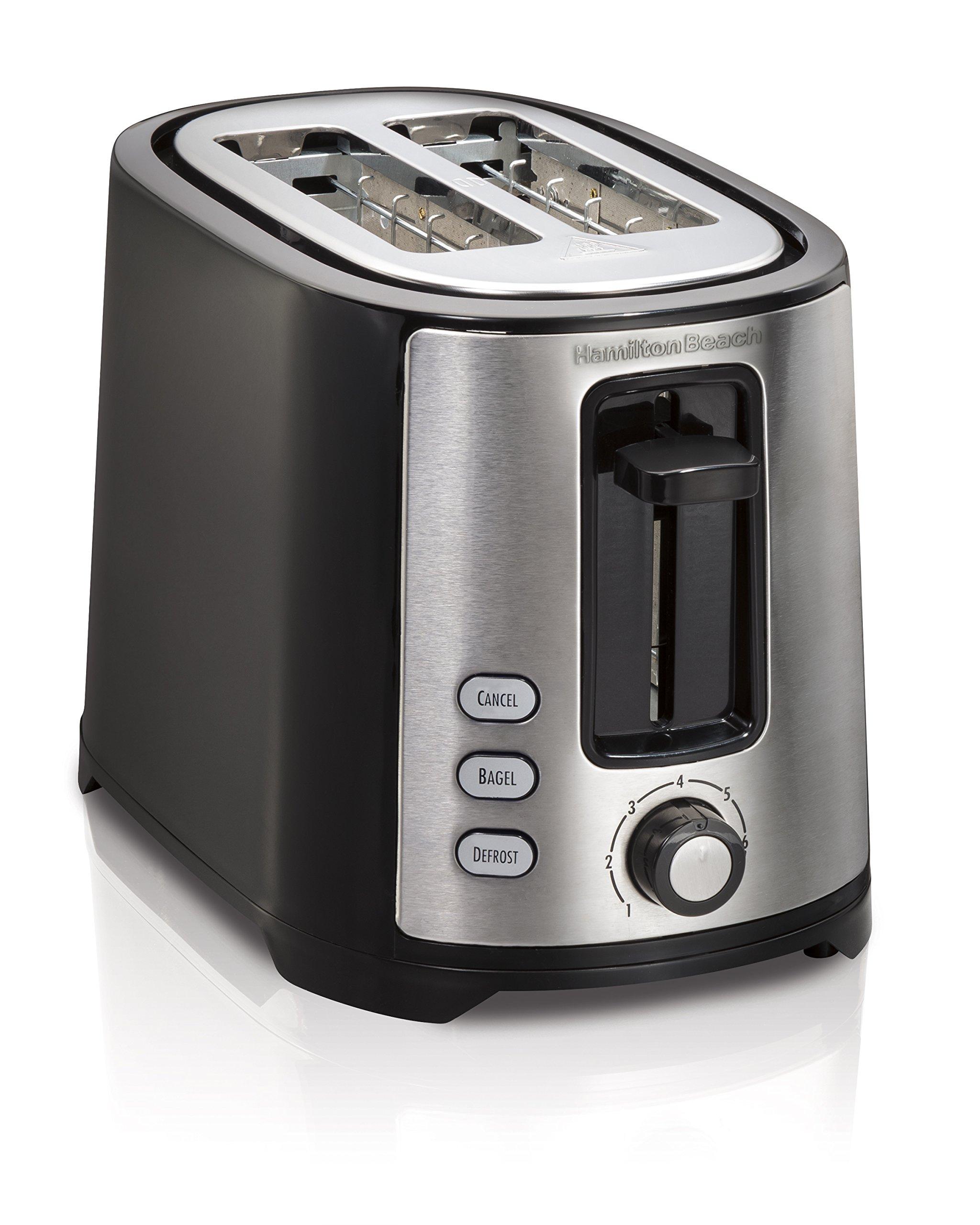 Hamilton Beach Extra Wide Slot 4 Slice Toaster: OpenBox Hamilton Beach Beach Extra-Wide 2 Slice Slot