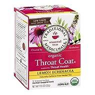Traditional Medicinals Tea Og2 Thrt Coat Lmn Ech 16 Bag