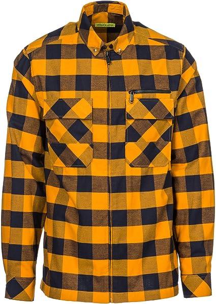 Versace Jeans Camisa de Mangas largas Hombre Nuevo naranjane ...