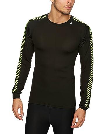 6682cc50 Helly Hansen Men's Lifa Dry Stripe Crew Baselayer T-shirt