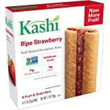 Kashi, Soft-Baked Breakfast Bars, Ripe Strawberry, Non-GMO Project Verified, 7.2 oz (6 Count)