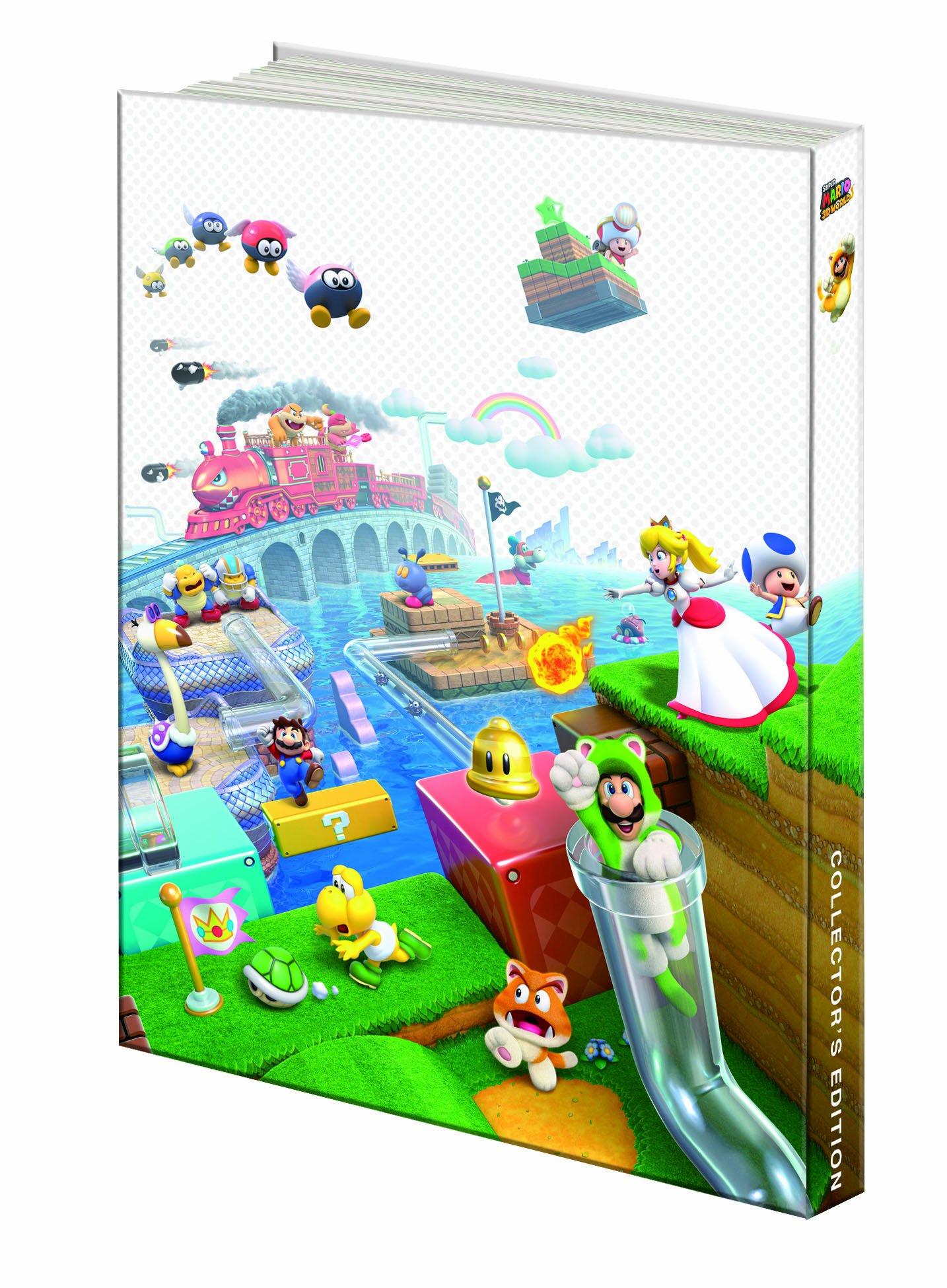 super mario 3d world collector s edition prima official game guide rh amazon com super mario 3d world wiki guide super mario 3d world guide book