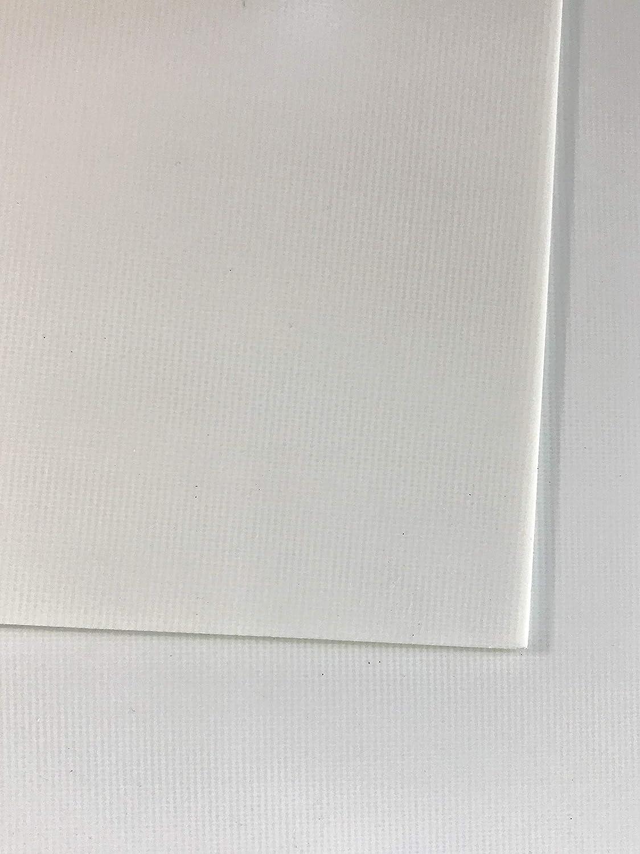 0,5 mm in fibra di vetro blaha FR4 pannello dimensioni ca, 520 x 250 mm vetro duro tessuto bianco PD Group