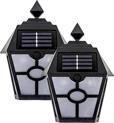 LED Solar Lights Step Waterproof Stair Outdoor Lighting Yard Paths Decor Lamps