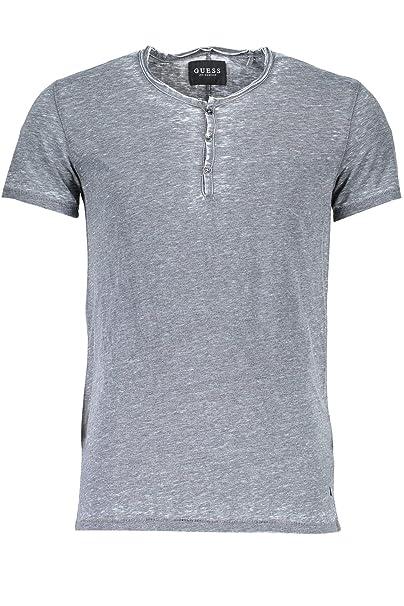 Guess Jeans M73P06K4JU0 Harren - Camiseta de Manga Corta Grau Hc97 ...