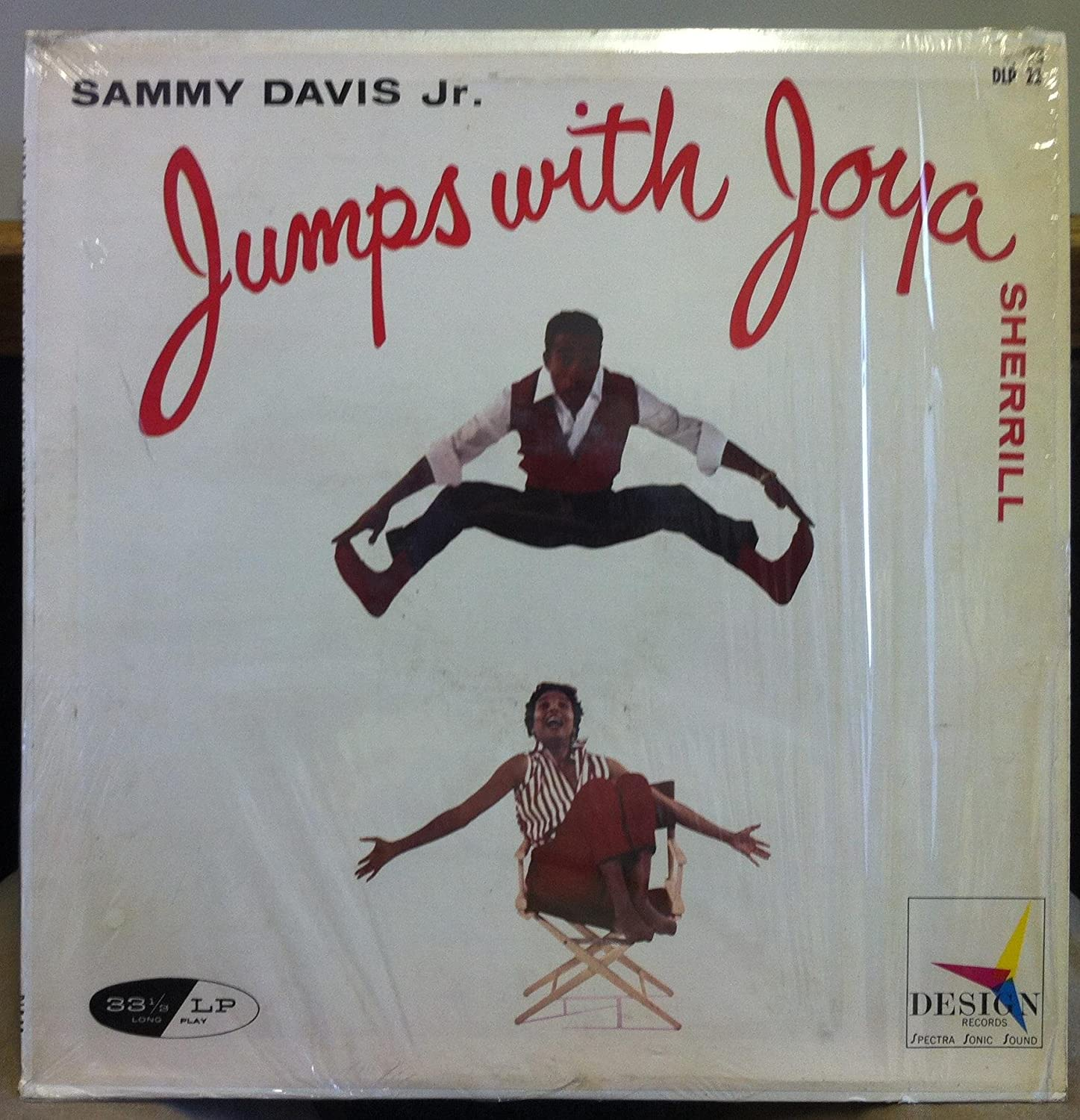 Sammy Davis Jr & Joya Sherrill JUMPS WITH JOYA vinyl record