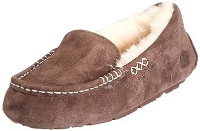 UGG Ws Ansley 3312 - Zapatillas de casa para mujer, color marrón, talla 36
